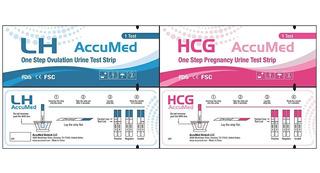 Kit 10 Test De Ovulación + 1 Test De Embarazo Accumed 99%