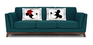 Par De Almohadones Mickey Y Minnie