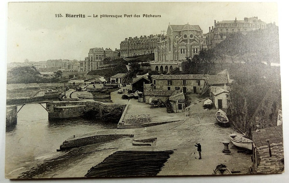 Antigua Postal De Biarritz - Francia - Sin Usar - Post 033