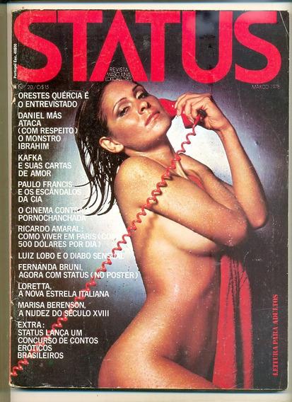 *sll* Revista Status N 20 - Fernanda Bruni - Março 1976