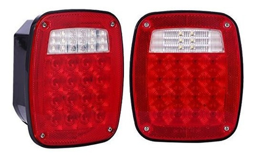 Imagen 1 de 7 de 38 Led Jeep Style  Luces De Respaldo Para Camión