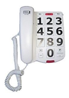 Telefono Para Adultos Mayores Con Botones Grandes Muy Comodo