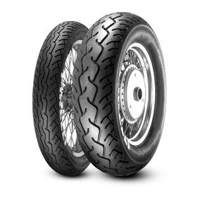 Par Pneu Shadow 600 Pirelli 100/90-19 170/80-15 Mt66 Route