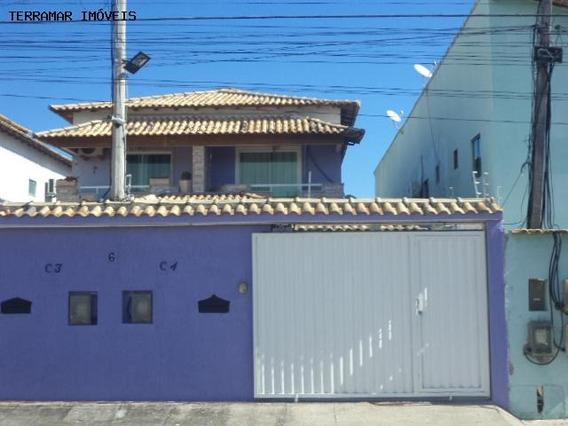 Casa A Venda Em Cabo Frio, Parque Burle, 3 Dormitórios, 2 Suítes, 3 Banheiros, 3 Vagas - Cas-i 142