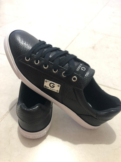 Tenis G By Guess Negros Talla 5.5 Mex