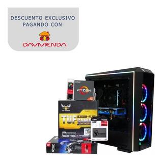 Pc Gamer Orchid To16 Ryzen 5 2600 Rx 590 Ram 8gb