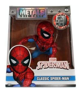 Metals Die Cast Muñeco De Metal Spider- Man Jada Local Envío