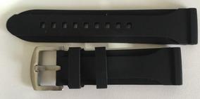 Pulseira Fossil 24mm Preta - Frete Grátis