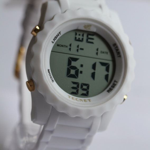 Relógio Masculino Militar Tecnet Digital Prova Dágua Barato