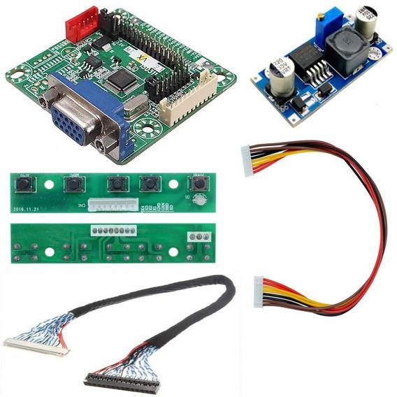Placa De Tv Lcd Led Universal Controladora Mt561-b Kit 30pin