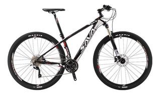 Bicicleta Sava Deck 300 Fibra De Carbono Rin 29 Marco 15.5