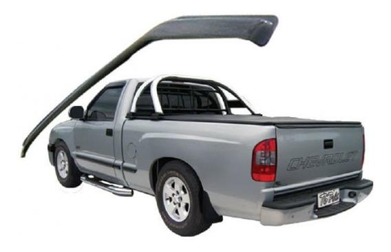 Calha De Chuva Chevrolet S10 Cab Simples Estendida 2 Tg Poli