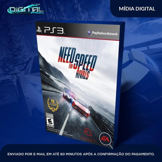 Need For Speed Rivals Ps3 Psn Midia Digital Envio Agora!
