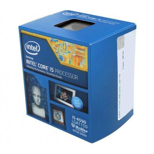 1875 Cpu Intel Core I5-4590 3.3ghz Lga1150 4º Geração