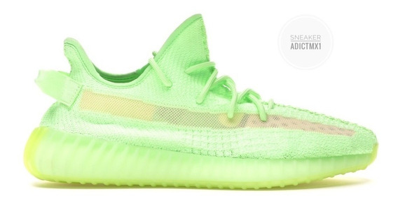 Tenis adidas Yeezy Boost 350 V2 Glow In The Dark En Caja