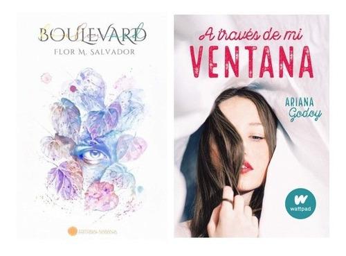 Pack Boulevard + A Través De Mi Ventana ( 2 Libros)