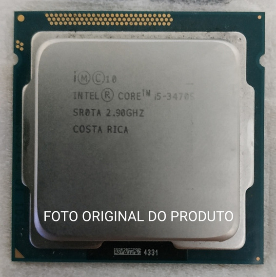 Processador Intel Core I5 3470s 1155 Oem
