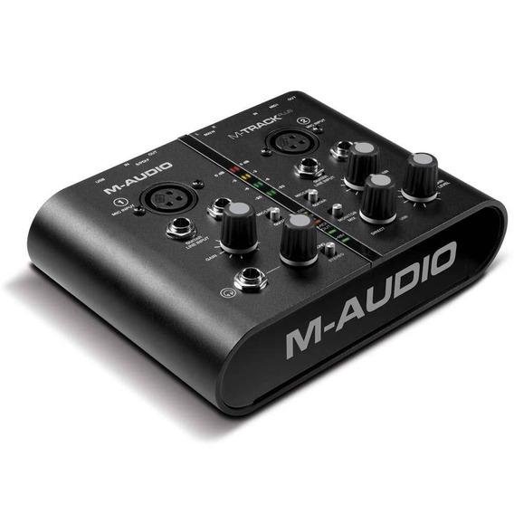 Interface Audio E Midi M-audio | M-track Plus | Pro Tool