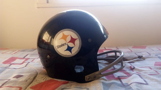 Casco De Football Americano 1960s Pittsburgh Steelers