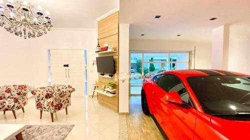 Imagem 1 de 30 de Casa De Luxo Com 4 Dormitórios À Venda, 245 M² - Urbanova - São José Dos Campos/sp - Ca2073
