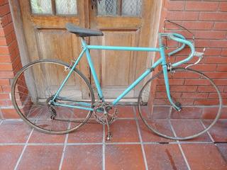 Bicicleta Antigua Carrera Ruta Empipada R28 Cambios Gambato