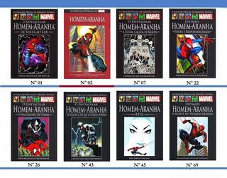 Homem-aranha Marvel Salvat Coleção Hq Valor Unitário