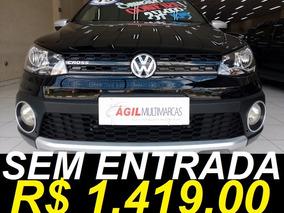 Volkswagen Saveiro 1.6 Cross Ce Único Dono 2015 Preto