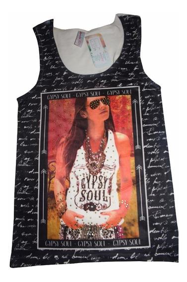 Bl1199 Blusa Esqueleto Con Cristaless, It Girls Colombia