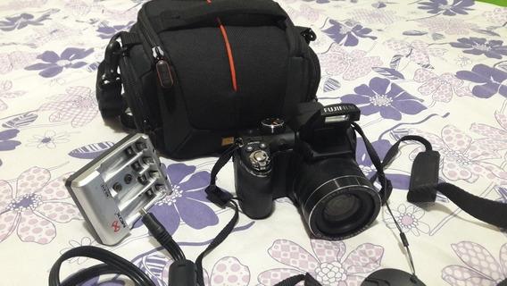 Câmera Fotográfica Fujifilm Finepix S 14mp 30x Zoom Superwid