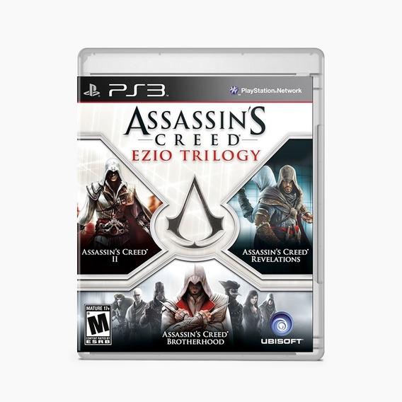 Assassins Creed Ezio Trilogy - Ps3 - Mídia Física - Lacrado