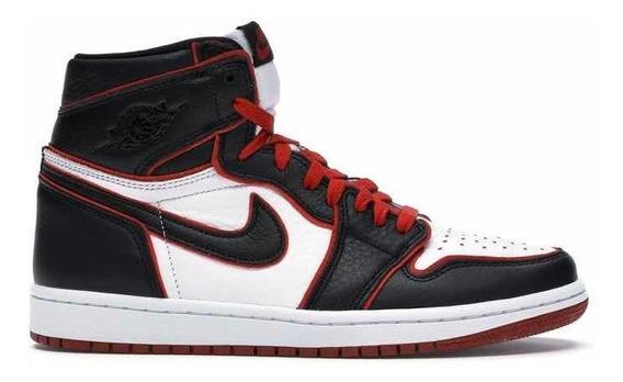 Sneakers Original Jordan 1 Retro High Blood Line Negro Rojo