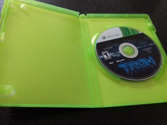 Tron Evolution Xbox 360 Midia Fisica Original Semi Novo