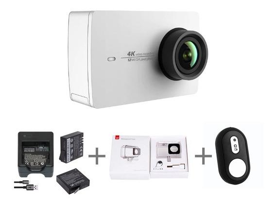 100% Original Action Camera Xiaomi Yi 2 4k + Acessórios!!!