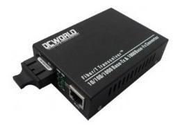 Conversor De Midia Gigabit 10/100/1000 Multimodo 0,5km