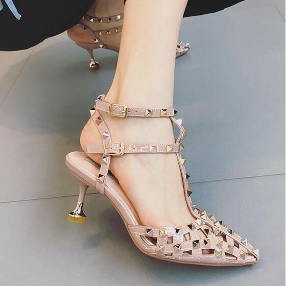 Sapato Feminino Scarpan Marca Famosa Valentino