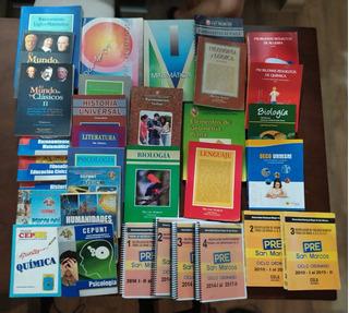 Pack De 33 Libros Para Pre San Marcos + 28 Folletos Gratis