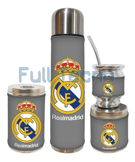 Set Matero 4 Piezas Real Madrid 2 Excelente Calidad