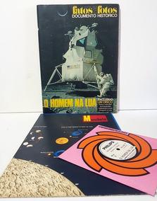 Revista Fatos E Fotos O Homem Na Lua + Disco + Poster