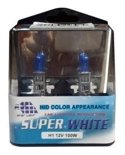 Bombillo H1 Xenon (ultra Blanco) 12v 100w (jgo)