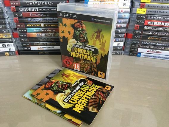 Red Dead Redemption Undead Nightmare Ps3 Semi Novo Dvd