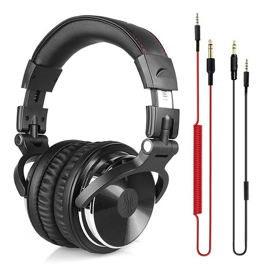 Fone De Ouvido Over Ear Profissional Djs Estúdio Frete Grati