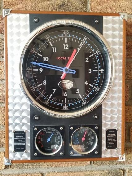 Reloj Replica Siglo Xx Temperatura Y Humedad Eye Catcher