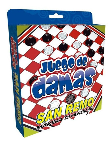 Juego De Damas San Remo Envio Full (4144)