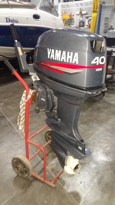 Motor De Popa - Yamaha 2t 40 Hp - Em Perfeito Estado
