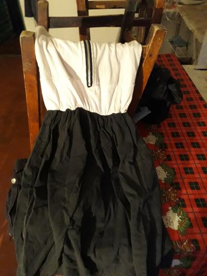 Vestido Casual Con Cierre