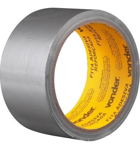 Fita Adesiva Reforçada Prata 50mmx10mts - Vonder