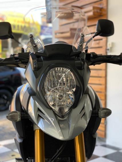 Suzuki Dl 1000 V-strom 2018 Prata Tebi Motos