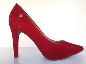 9ed1f2a81 Sapato Scarpin Via Uno Vermelho - Sapatos com o Melhores Preços no ...