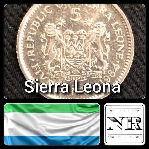 Sierra Leona - 5 Cents - Año 1984 - Km# 33 - Africa