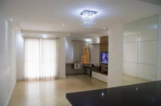 Apartamento Com 2 Dormitórios À Venda, 70 M² Por R$ 340.000 - Vila Valparaíso - Santo André/sp - Ap1206